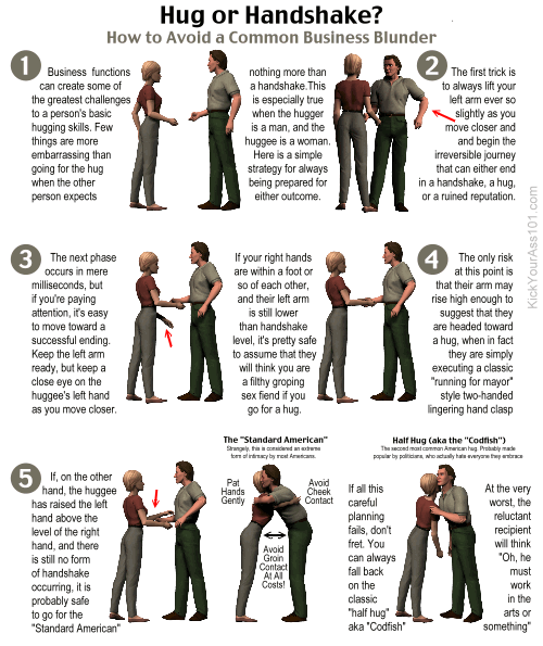 Hug or Handshake (A Guide)?